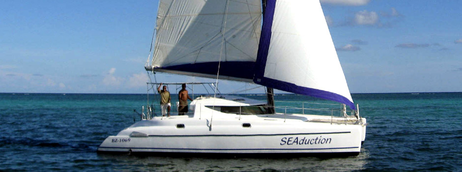 Private Charter Sailing in Belize