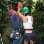 Belize zip line