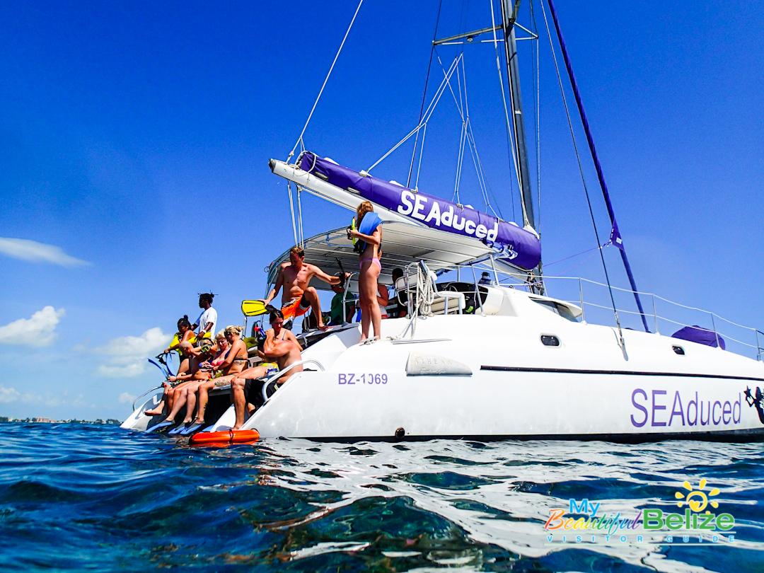 Caye Belize Tours Catamaran